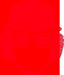 Kopfschutz rot vorderkopf