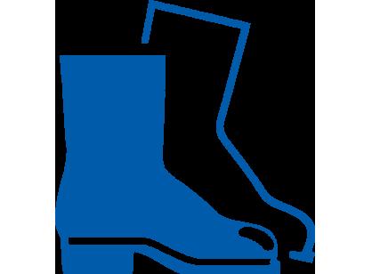 icon Blau Sicherheits-Schuhe