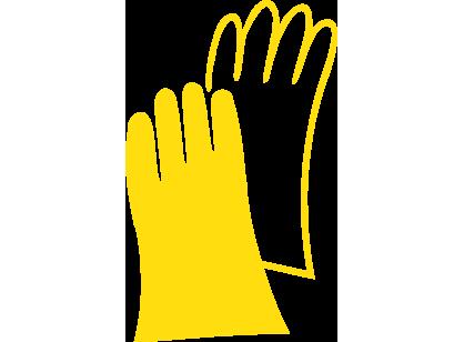 icon Gelb Hand- und Hautschutz