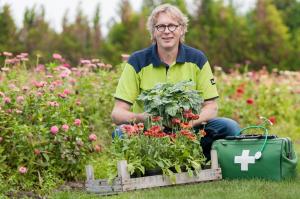 Der Pflanzenarzt Rene Wadas